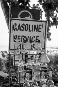 Thai Gasoline Station by David Gabis.