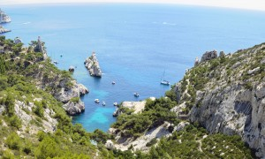 Sugiton, Marseille, Calanques in South of France by David GABIS.