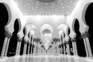 Sheikh Zayed Grand Mosque by David Gabis