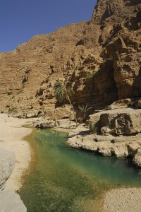 Wadi Ash Shab, Oman by David Gabis.