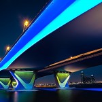 Garhoud Bridge, Dubai By David Gabis
