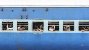 Wagon in Delhi train station