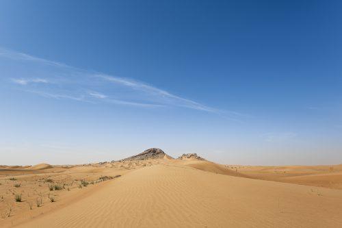 Dunes and Mountains landscape, UAE