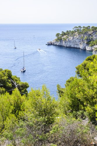 Calanque and port of Port-Miou, Cassis, South of France