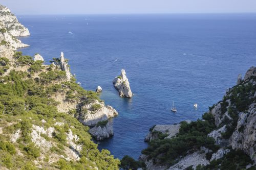Calanque of Sugiton in South of France 🇫🇷
