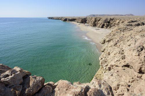 Wild beach, coast of Ras Al Jinz, Oman 🇴🇲
