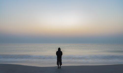 Blurry Sea Landscape Background, Oman 🇴🇲