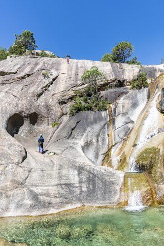 Purcaraccia Canyon in Bavella, Corsica. France